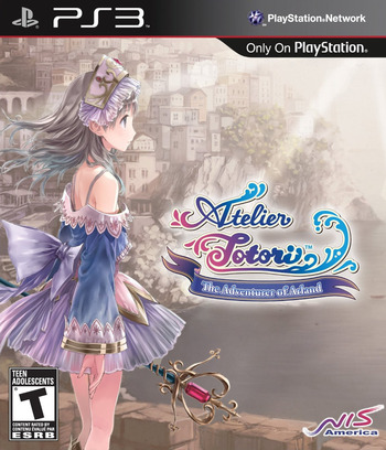 Atelier Totori: The Adventurer of Arland (Premium Edition) PS3 coverM (BLUS30867)