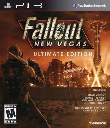 Fallout New Vegas: Ultimate Edition PS3 coverM (BLUS30888)