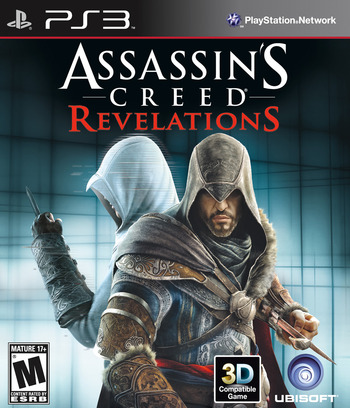 Assassin's Creed: Revelations PS3 coverM (BLUS30905)