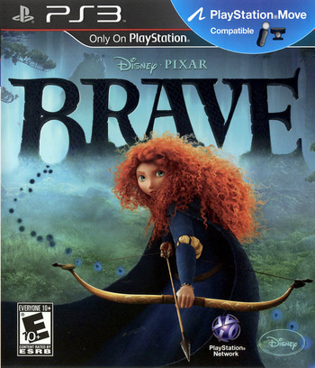 Brave: The Video Game PS3 coverM (BLUS30907)