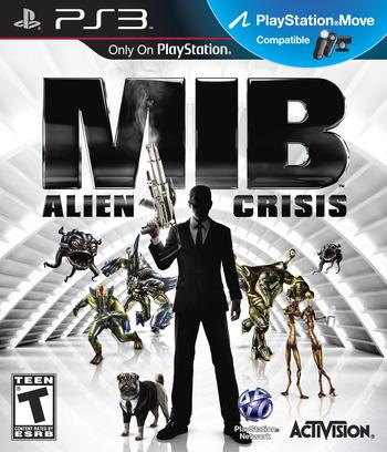 Men In Black: Alien Crisis PS3 coverM (BLUS30922)
