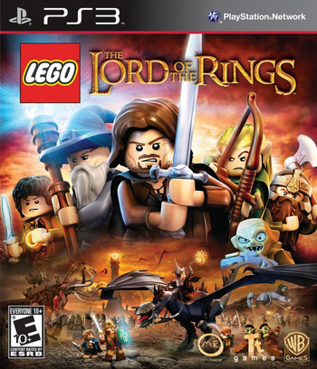 LEGO The Lord of the Rings PS3 coverM (BLUS30963)