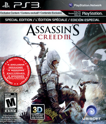 Assassin's Creed III PS3 coverM (BLUS30991)