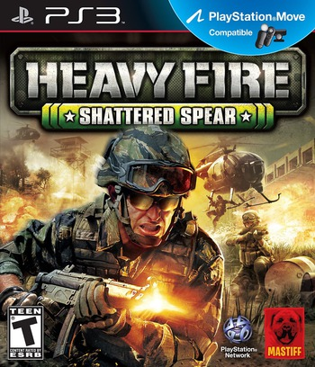 Heavy Fire: Shattered Spear PS3 coverM (BLUS31000)