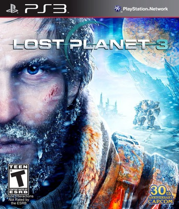 Lost Planet 3 PS3 coverM (BLUS31020)