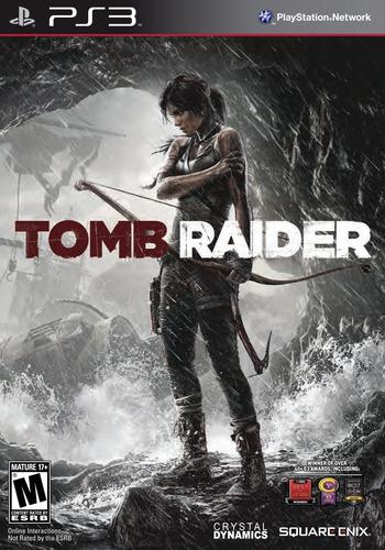 Tomb Raider PS3 coverM (BLUS31036)