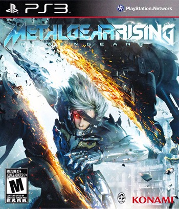 Metal Gear Rising: Revengence PS3 coverM (BLUS31045)