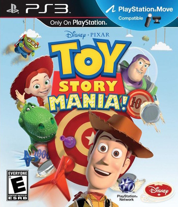 Toy Story Mania! PS3 coverM (BLUS31048)