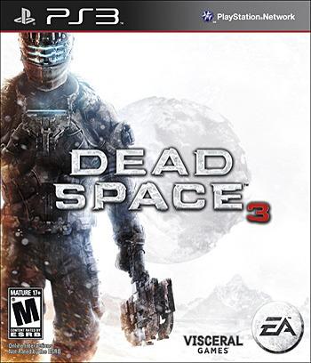 Dead Space 3 PS3 coverM (BLUS31053)