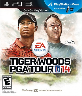 Tiger Woods PGA Tour 14 PS3 coverM (BLUS31063)
