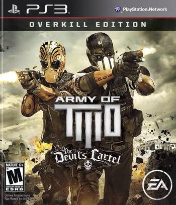 Army of Two: The Devil's Cartel PS3 coverM (BLUS31069)