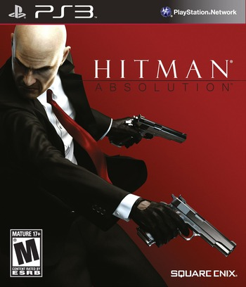 Hitman: Absolution PS3 coverM (BLUS31142)