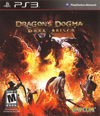 Dragon's Dogma: Dark Arisen PS3 coverM (BLUS31155)