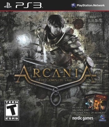 Arcania: The Complete Tale PS3 coverM (BLUS31158)