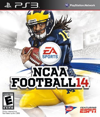 NCAA Football 14 PS3 coverM (BLUS31159)
