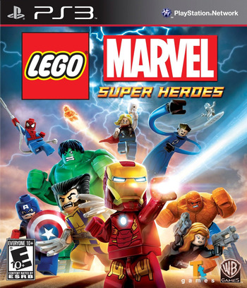LEGO Marvel Super Heroes PS3 coverM (BLUS31161)