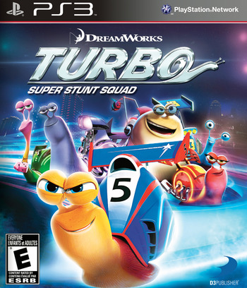 Turbo : Super Stunt Squad PS3 coverM (BLUS31171)
