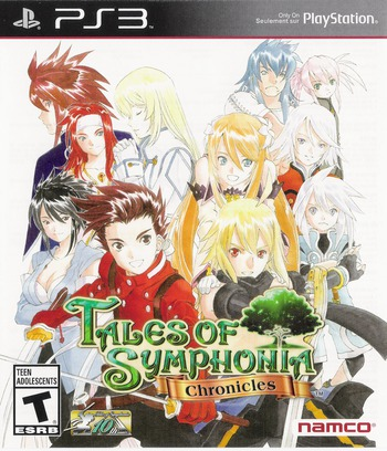Tales of Symphonia Chronicles PS3 coverM (BLUS31172)