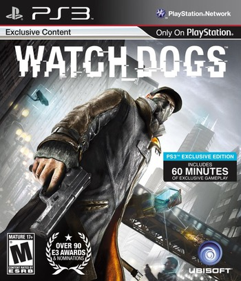 Watch Dogs PS3 coverM (BLUS31176)