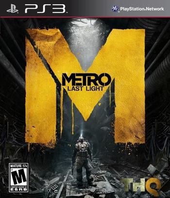 Metro: Last Light PS3 coverM (BLUS31184)