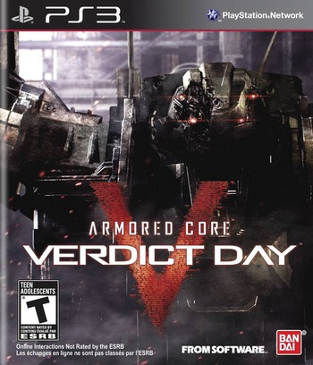 Armored Core: Verdict Day PS3 coverM (BLUS31194)