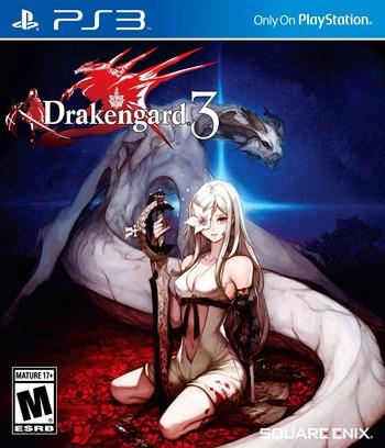 Drakengard 3 PS3 coverM (BLUS31197)