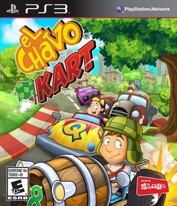 El Chavo Kart PS3 coverM (BLUS31198)
