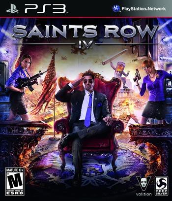 Saints Row IV PS3 coverM (BLUS31205)