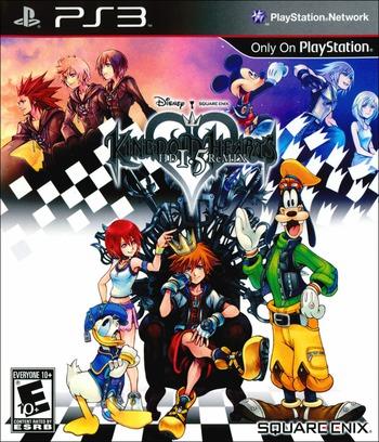 Kingdom Hearts HD 1.5 ReMIX PS3 coverM (BLUS31212)