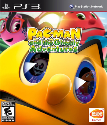Pac-Man and the Ghostly Adventures PS3 coverM (BLUS31217)