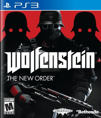 Wolfenstein: The New Order PS3 coverM (BLUS31220)
