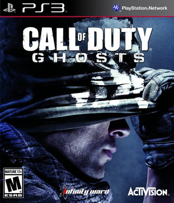 Call of Duty: Ghosts PS3 coverM (BLUS31270)