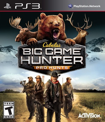 Cabela's Big Game Hunter: Pro Hunts PS3 coverM (BLUS31274)