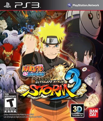 Naruto Ultimate Ninja Storm 3:Full Burst PS3 coverM (BLUS31350)