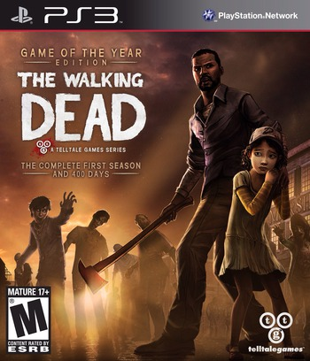 The Walking Dead PS3 coverM (BLUS31377)