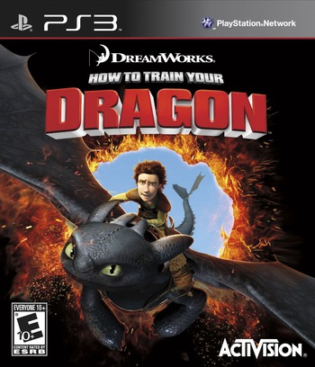 How to Train Your Dragon 2 PS3 coverM (BLUS31388)