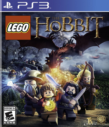 LEGO The Hobbit PS3 coverM (BLUS31392)