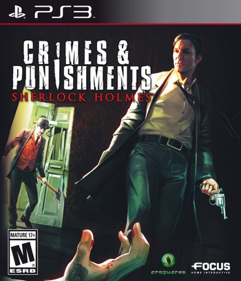 Sherlock Holmes : Crimes and Punishments PS3 coverM (BLUS31412)