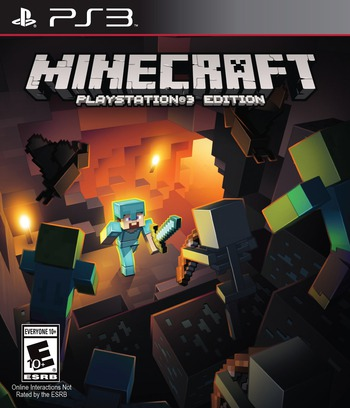 Minecraft: PlayStation 3 Edition PS3 coverM (BLUS31426)