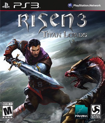 Risen 3: Titan Lords PS3 coverM (BLUS31432)