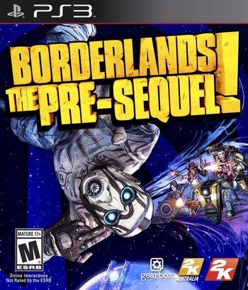 Borderlands: The Pre-Sequel PS3 coverM (BLUS31445)