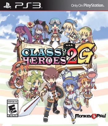 Class of Heroes 2G PS3 coverM (BLUS31461)