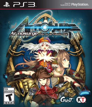 Ar nosurge: Ode to an Unborn Star PS3 coverM (BLUS31478)