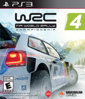 WRC 4: FIA World Rally Championship PS3 coverM (BLUS31509)