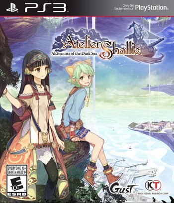 Atelier Shallie: Alchemists of the Dusk Sea PS3 coverM (BLUS31525)