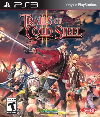 The Legend of Heroes: Trails of Cold Steel II PS3 coverM (BLUS31597)