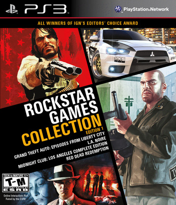 Rockstar Games Collection: Edition 1 PS3 coverM (BLUS41006)