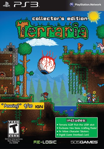 Terraria (Collector's Edition) PS3 coverM (BLUS41034)