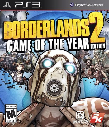 Borderlands 2 PS3 coverM (BLUS82001)