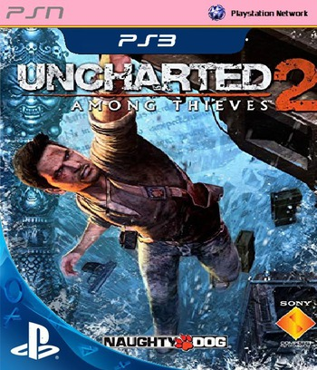 Uncharted 2: Among Thieves PS3 coverM (NPEA00365)
